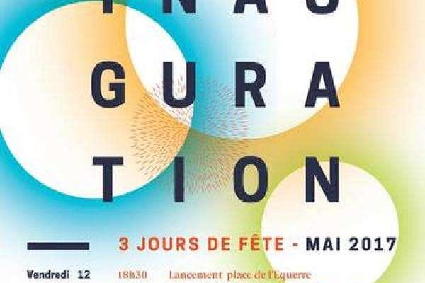 Inauguration Rue des Arts